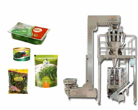 بهترین دستگاه بسته بندی سبزیجات